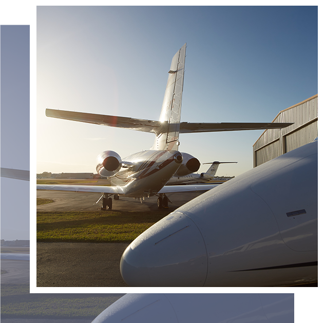 Planes on the field at Naples Jet Center | Naples, Florida FBO Services