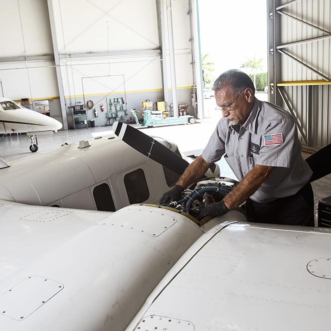 Naples Jet Center Aircraft Maintenance | Naples FAA part 145 repair station